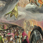 The Adoration Of The Name Of Jesus Poster