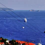 The Adriatic Sea Poster