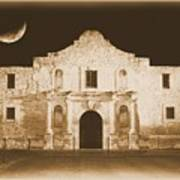 The Alamo Greeting Card Poster