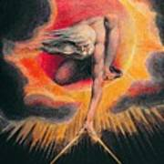 The Ancient Of Days Poster by William Blake