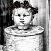 The Antique Doll's Head Poster