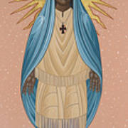 The Apparition Of St Kateri Tekakwitha 192 Poster