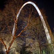 The Arch 3 St Louis Missouri Gateway Arch Art Poster