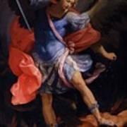 The Archangel Michael Defeating Satan 1635 Poster