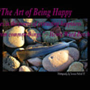 The Art Of Being Happy Poster