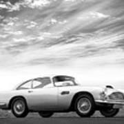 The Aston Db4 1959 Poster