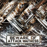 The Attack Waitress  Poster