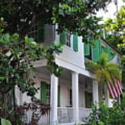 The Audubon House - Key West Florida Poster