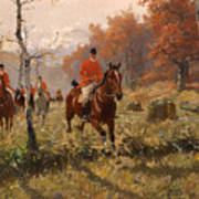 The Autumn Hunt Poster