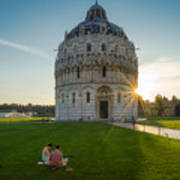 The Baptistery, Piazza Dei Miracoli Poster