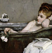 The Bath Poster by Alfred George Stevens