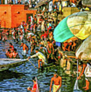 The Bathing Ghats Poster