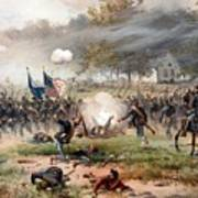 The Battle Of Antietam Poster