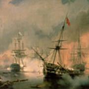 The Battle Of Navarino Poster