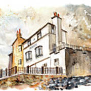The Bay Hotel In Robin Hoods Bay Poster