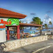 The Beach - Arashi Beach - Aruba - West Indies Poster