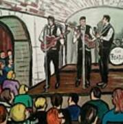 The Beatles At The Cavern Club Liverpool Poster