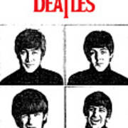 The Beatles No.12 Poster