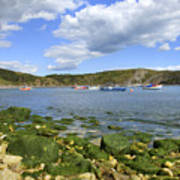 The Beauty Of Lulworth Cove Poster