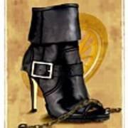 The Biker Boot Poster