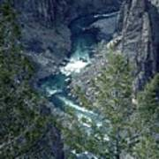 The Black Canyon Of The Gunnison Poster