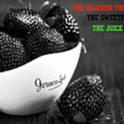 The Blacker The Berry Poster