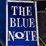 The Blue Note - Bourbon Street Poster