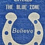 The Blue Zone Poster