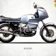 The R100rs Motorcycle 1977 Poster