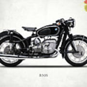 The R50s Motorcycle Poster