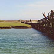 The Boardwalk Leap Poster