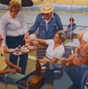 The Boat Party Poster by Diane Caudle