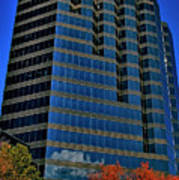 The Borland Atlanta Poster by Corky Willis Atlanta Photography