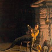 The Boyhood Of Lincoln Poster