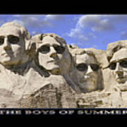 The Boys Of Summer Poster