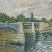 The Bridge Of Courbevoie, Paris Poster