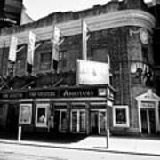 the Broadhurst theatre featuring anastasia musical New York City USA Poster