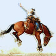 the Bronc Buster Poster