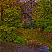 The Bronx River Stone Mill Poster