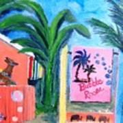 The Bubble Room Captiva Island Florida Poster