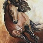 The Buckskin Gallop Poster