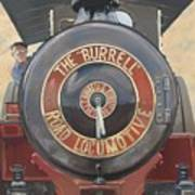 The Burrell Road Locomotive Poster