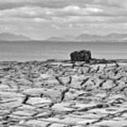 The Burren Landscape Ireland Poster