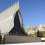 The Cadet Chapel At The U.s. Air Force Poster