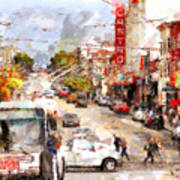 The Castro In San Francisco . 7d7573 Poster