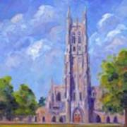The Chapel At Duke University Poster