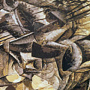 The Charge Of The Lancers Poster by Umberto Boccioni