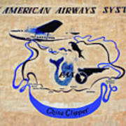 The China Clipper Poster