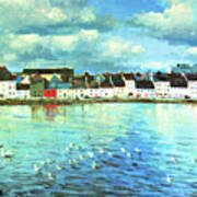 The Claddagh Galway Poster