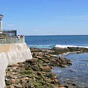 The Cliff Walk Newport Rhode Island 4 Poster